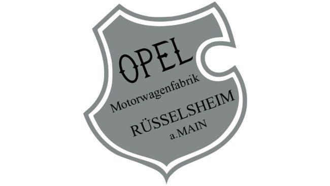 Opel Logotipo 1899