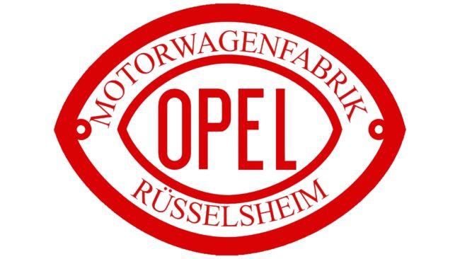 Opel Logotipo 1902-1906