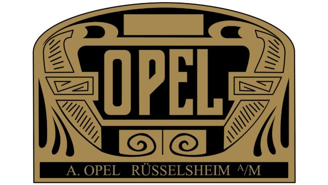 Opel Logotipo 1906-1909