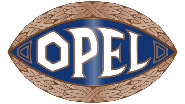 Opel Logotipo 1910-1937
