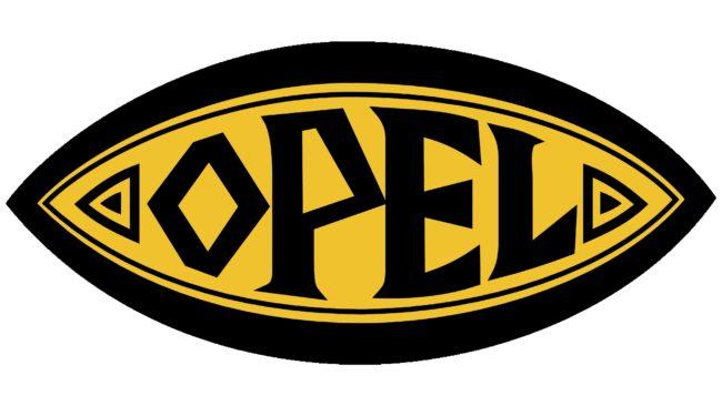 Opel Logotipo 1924-1937