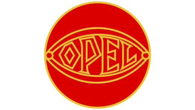 Opel Logotipo 1929-1937