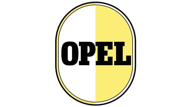 Opel Logotipo 1950-1951