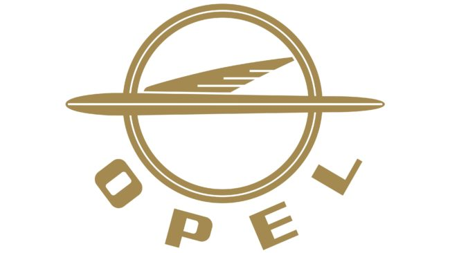 Opel Logotipo 1954-1959