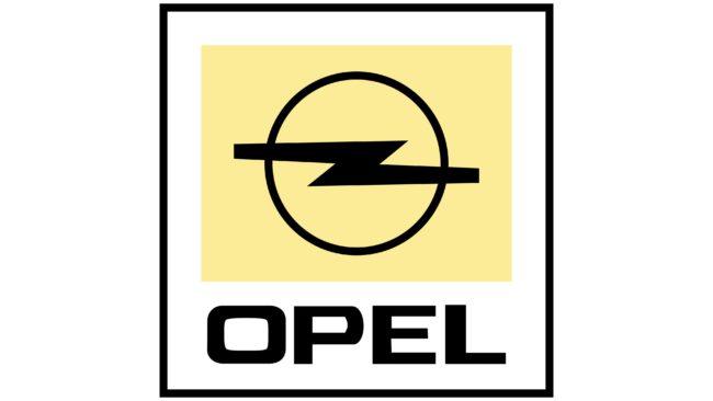 Opel Logotipo 1987-2002