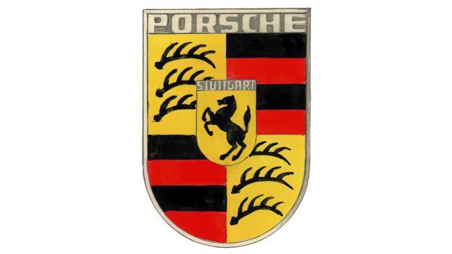 Porsche Logotipo 1952-1963