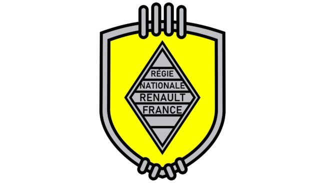 Renault Logotipo 1945-1946