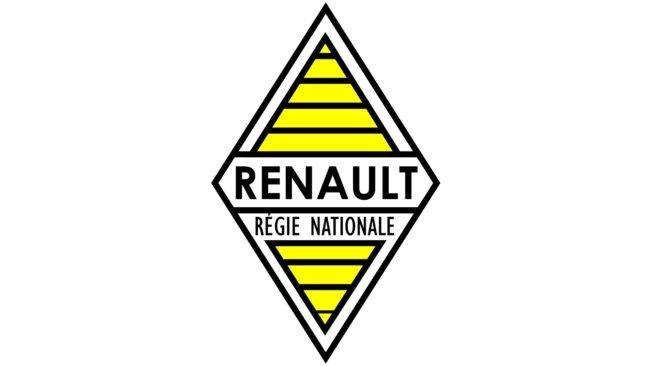 Renault Logotipo 1946-1958