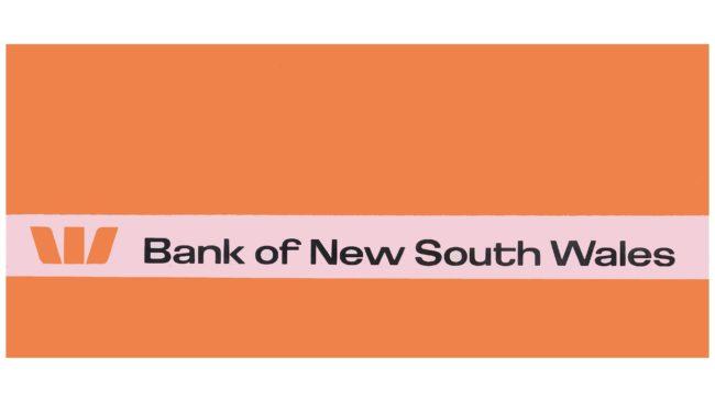 The Bank of New South Wales Logotipo 1974-1982