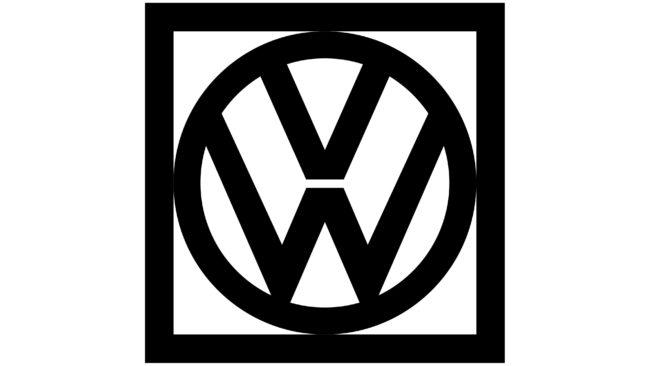 Volkswagen Logotipo 1960-1967