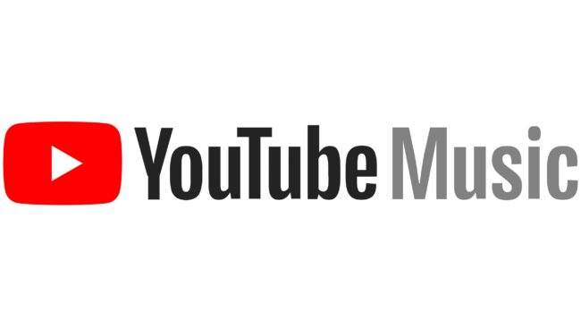 Youtube Music Logotipo 2017-2019