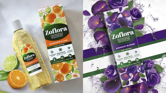 Zoflora Reveals Nuevo logotipo