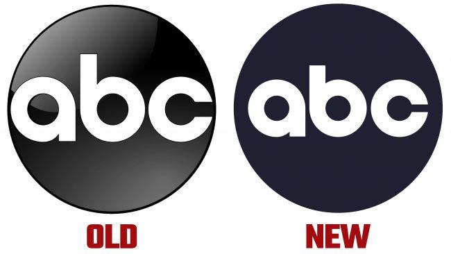 ABC nuevo y antiguo logotipo (historia)