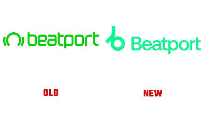 Beatport antiguo y nuevo logotipo (historia)