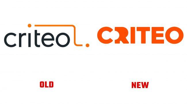 Criteo antiguo y nuevo logotipo (historia)