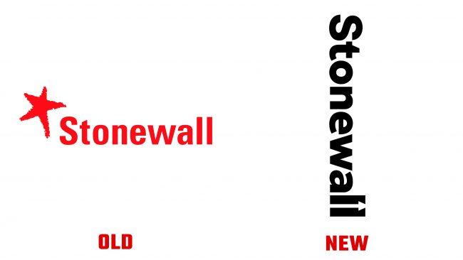 Stonewall Antiguo y Nuevo Logotipo (historia)
