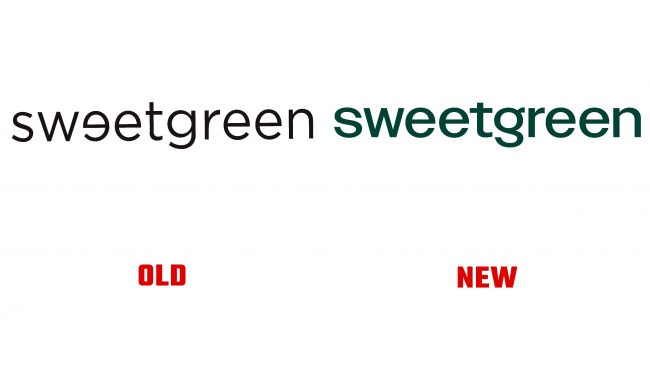 Sweetgreen antiguo y nuevo logotipo (historia)