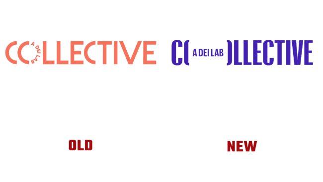 Collective antiguo y nuevo logotipo (historia)