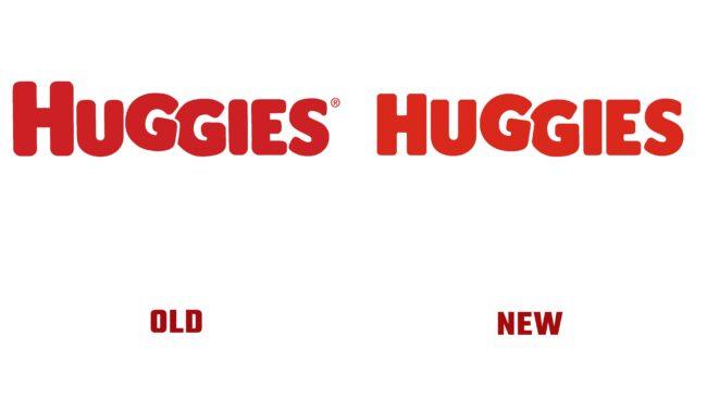 Huggies Antiguo y Nuevo Logotipo (historia)