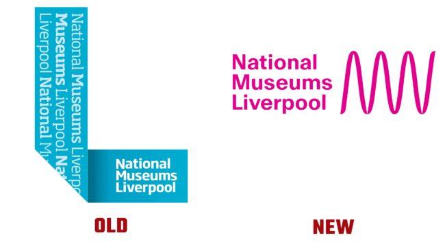 National Museums Liverpool Antiguo y Nuevo Logotipo (historia)