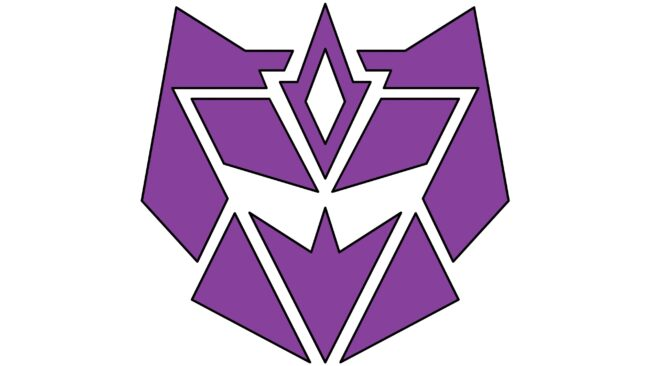 Decepticon Logotipo 1993-1995