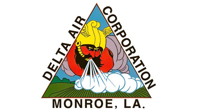 Delta Air Corporation Logotipo 1930-1934