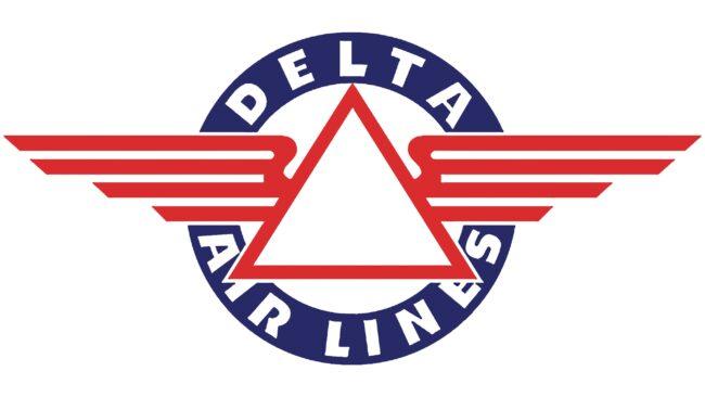 Delta Air Lines (First era) Logotipo 1934-1951