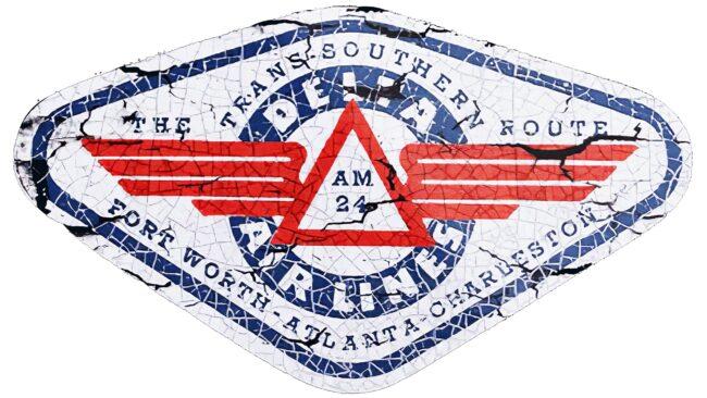 Delta Air Lines (First era) Logotipo 1934