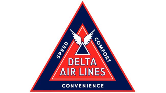 Delta Air Lines (First era) Logotipo 1935