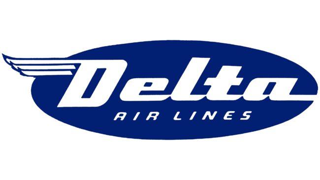 Delta Air Lines (First era) Logotipo 1945-1953