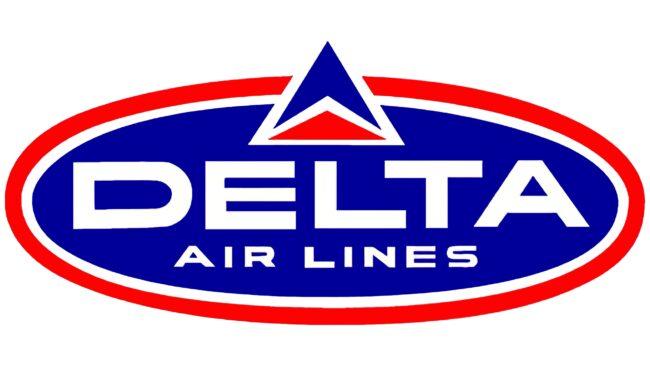 Delta Air Lines (Second era) Logotipo 1962-1966