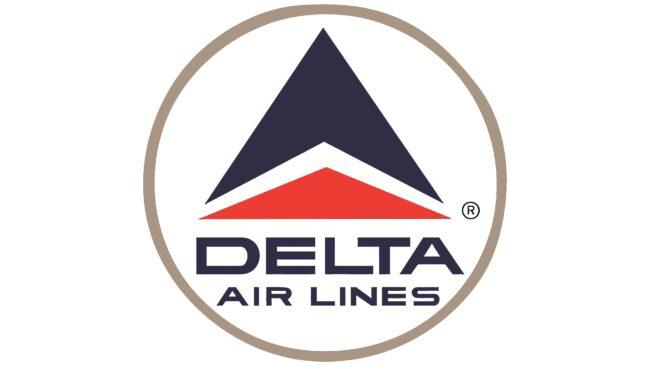 Delta Air Lines (Second era) Logotipo 1963-1993
