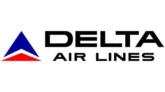 Delta Air Lines (Second era) Logotipo 1966-1976