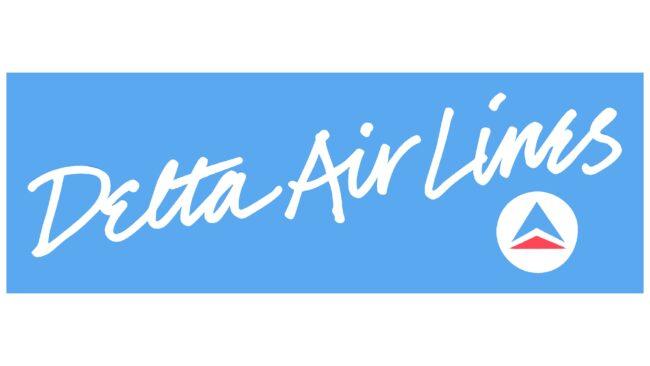 Delta Air Lines (Second era) Logotipo 1985-1987