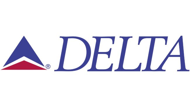 Delta Air Lines (Second era) Logotipo 1987-1995