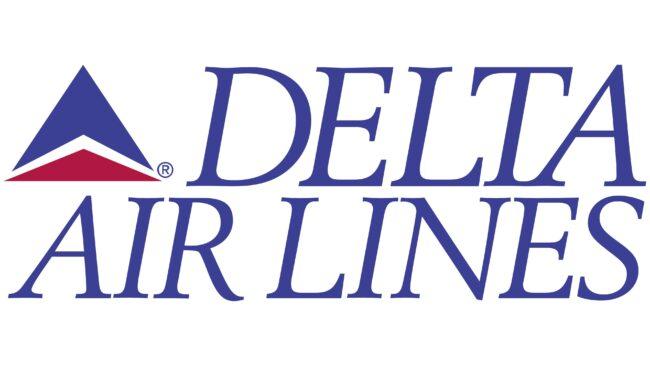 Delta Air Lines (Second era) Logotipo 1993-1995
