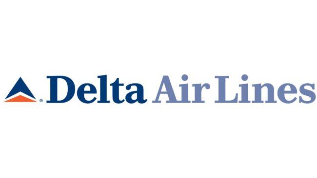 Delta Air Lines (Second era) Logotipo 1995-2000