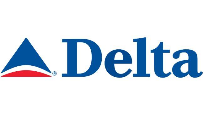 Delta Air Lines (Second era) Logotipo 2000-2004