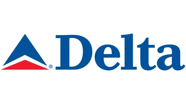 Delta Air Lines (Second era) Logotipo 2004-2007