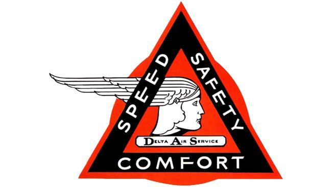 Delta Air Services Logotipo 1928-1930