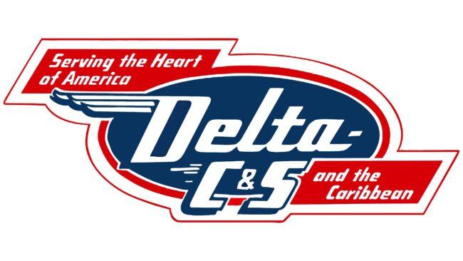 Delta C&S Logotipo 1953-1955