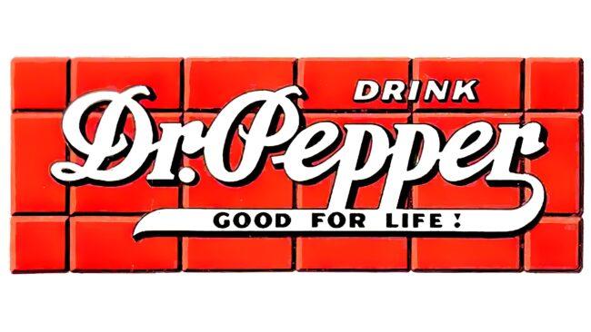Dr. Pepper Logotipo 1934-1954