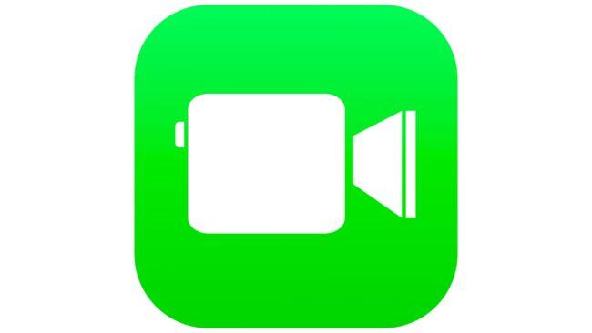 FaceTime Logotipo 2013-2018