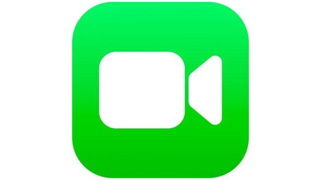 FaceTime Logotipo 2018-presente