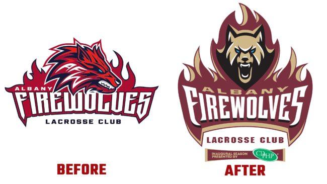 FireWolves Antes y Después del Logotipo (historia)