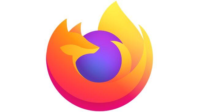 Firefox Browser Logotipo 2019-presente