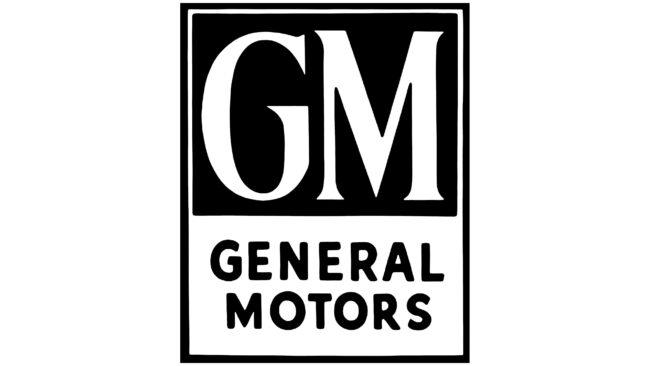 General Motors Logotipo 1938-1964