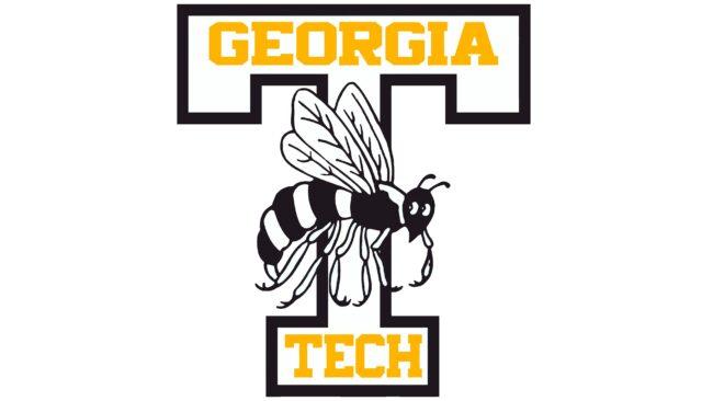 Georgia Tech Yellow Jackets Logotipo 1964-1968