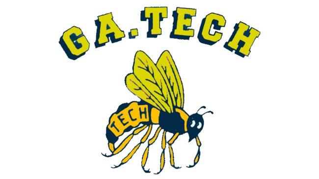 Georgia Tech Yellow Jackets Logotipo 1969-1977