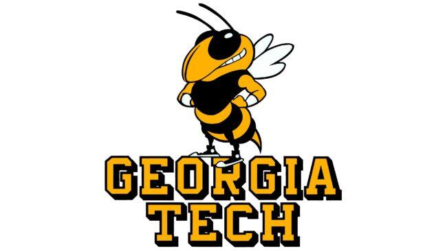 Georgia Tech Yellow Jackets Logotipo 1978-1990